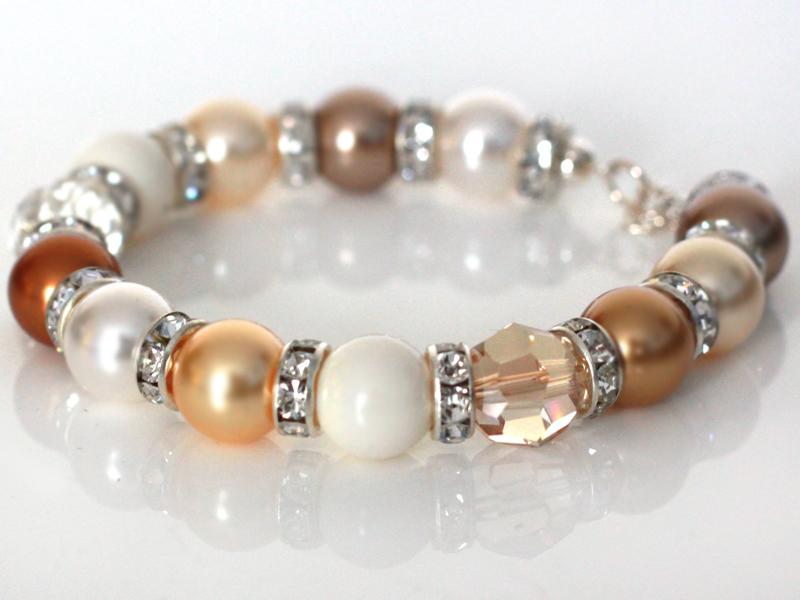 prezent z okazji urodzin - bransoletka perły