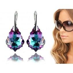 Kolczyki Baroque z kryształami Swarovski® Vitrail Light KR72