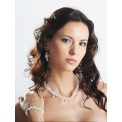 Biżuteria ślubna Swarovski Elements KP31