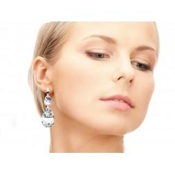 Biżuteria ślubna z kryształami Swarovski® KR42