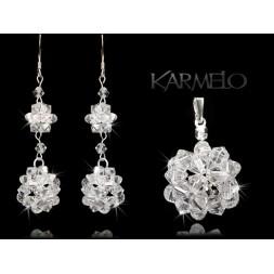 Biżuteria Ślubna kryształy Swarovski® KP61