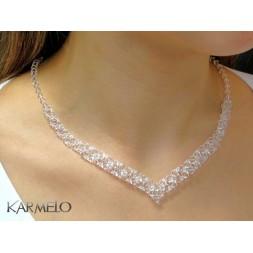 Biżuteria ślubna kryształy Swarovski® KP401
