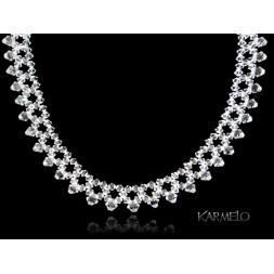 Naszyjnik do ślubu z kryształami Swarovskiego® NK131 crystal