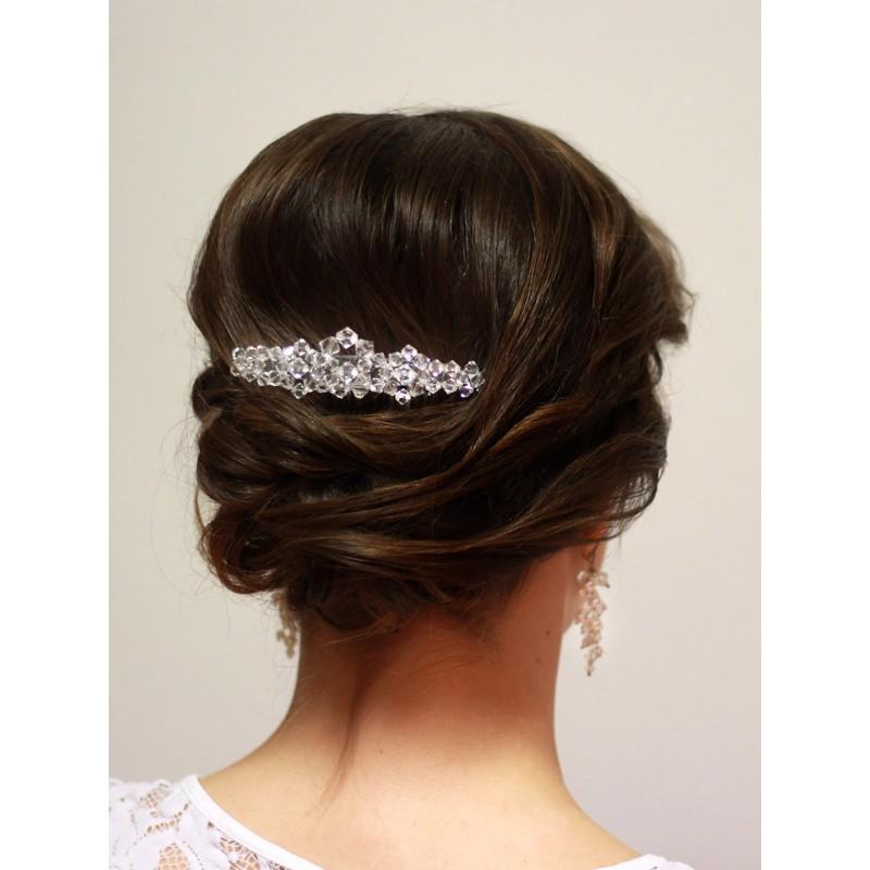 Ozdoba do fryzury ślubnej - grzebyk swarovski