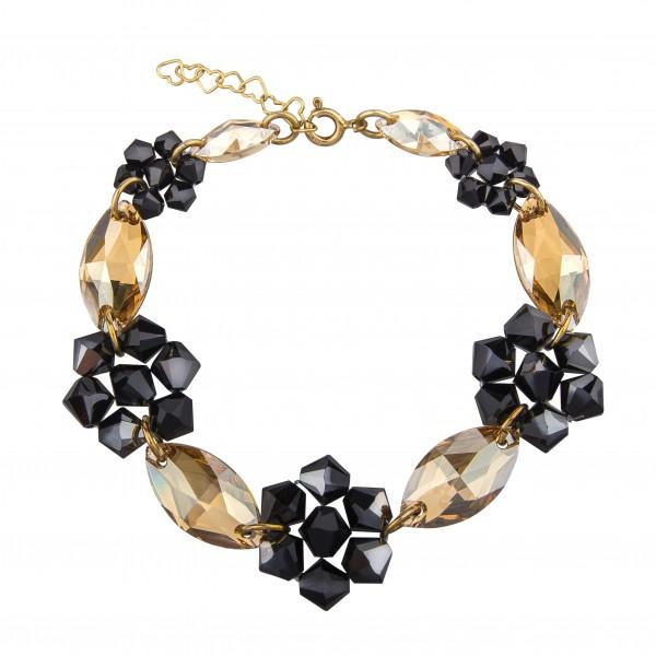 Biżuteria wieczorowa bransoletka z kryształami Swarovski® BR118