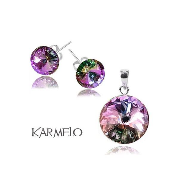 Biżuteria z kryształami Swarovski® Rivoli Vitrail Light KP65