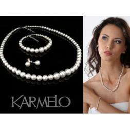 Biżuteria ślubna z perłami Swarovski ® KP14