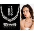 Biżuteria ślubna z kryształami Swarovski