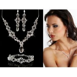 Biżuteria ślubna kryształki Swarovski®  KP17