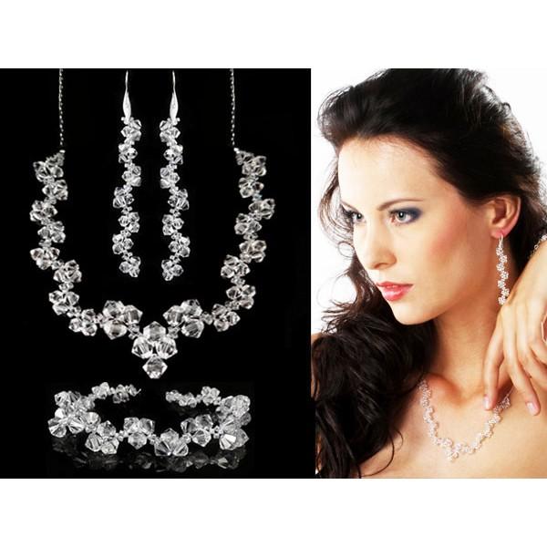 Biżuteria ślubna kryształy Swarovskiego® KP18