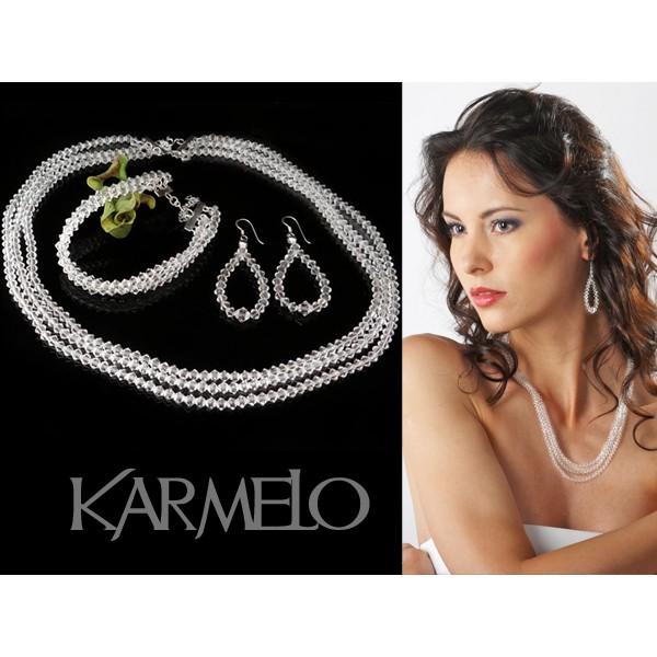 Biżuteria ślubna z kryształami Swarovski® KP12