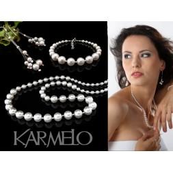 Komplet z perłami Swarovskiego® KP15