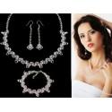 Biżuteria ślubna kryształy Swarovski® KP21