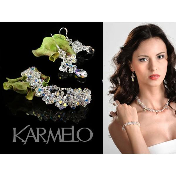 Biżuteria ślubna kryształki Swarovski® KP31