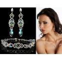 Biżuteria ślubna kryształki Swarovskiego® KP53