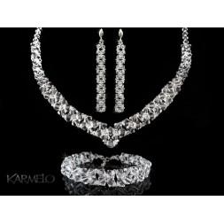 Biżuteria ślubna kryształy Swarovskiego® KP40