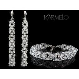 Biżuteria ślubna kryształy Swarovskiego® KP41