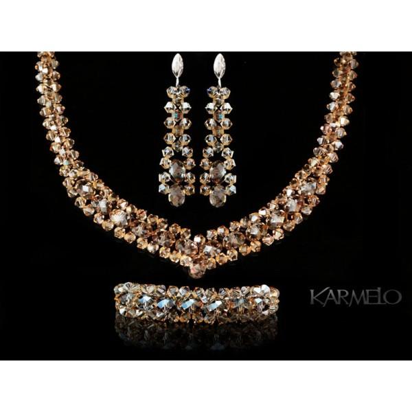Biżuteria ślubna kryształki Swarovski® KP9