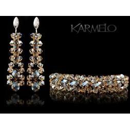 Biżuteria ślubna kryształy Swarovskiego® KP43
