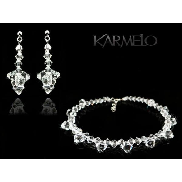 Biżuteria ślubna z kryształami Swarovski ® KP45