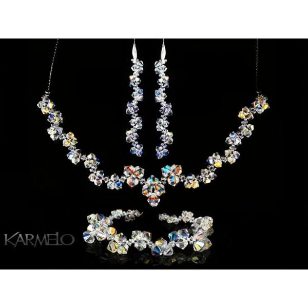 Biżuteria ślubna z kryształkami Swarovski ® KP46