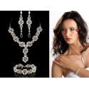 Biżuteria ślubna z perłami Swarovski ® KP50