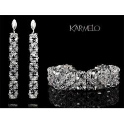 Biżuteria ślubna kryształy Swarovskiego ® KP51