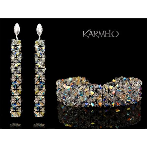 Biżuteria ślubna kryształki Swarovskiego® KP52