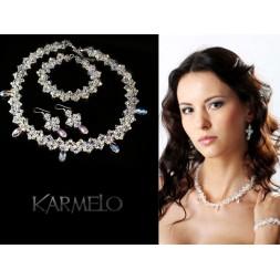 Biżuteria ślubna kryształy Swarovski® KP8