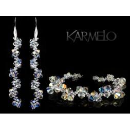Biżuteria ślubna kryształy Swarovski ® KP47