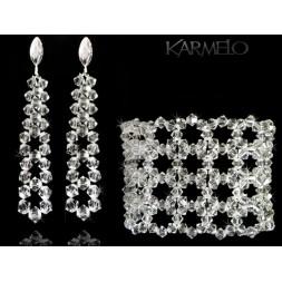 Biżuteria ślubna z kryształami Swarovsk® KP105