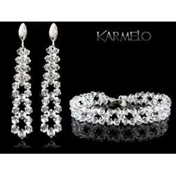 Biżuteria ślubna kryształki Swarovski ® KP552