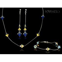 Biżuteria ślubna kryształy Swarovski ® KP115