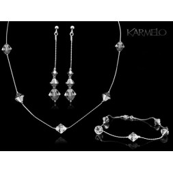 Biżuteria ślubna kryształki Swarovski® KP117