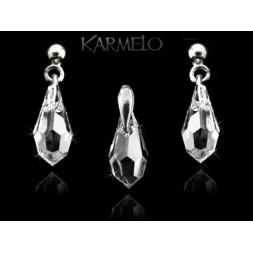 Biżuteria srebrna kryształki Swarovskiego® srebro KP121