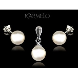 Biżuteria srebrna perły Swarovski® KP124