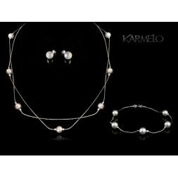 Biżuteria ślubna perły Swarovski® KP125