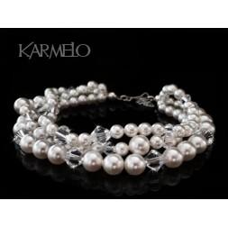 Biżuteria ślubna z perłami Swarovski® BR47