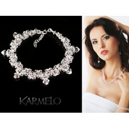 Biżuteria ślubna z kryształami Swarovski® BR21