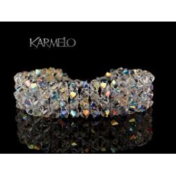 Biżuteria ślubna z kryształami Swarovskiego® BR52 AB