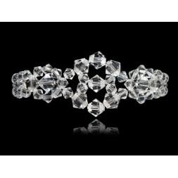 Biżuteria ślubna bransoletka z kryształami Swarovskiego®  BR401
