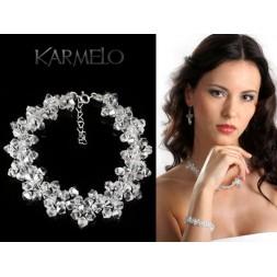 Biżuteria ślubna z kryształami Swarovskiego®  BR31 crystal