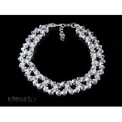 Biżuteria ślubna bransoletka z kryształkami Swarovskiego®  BR55 crystal