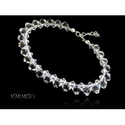 Biżuteria ślubna bransoletka kryształy Swarovski® BR130 crystal
