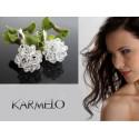 Kolczyki do Ślubu z kryształami Swarovskiego® KR38
