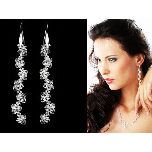 Biżuteria ślubna z kryształami Swarovskiego® KL18