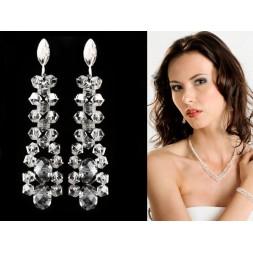 Kolczyki  z kryształami Swarovski® KR11