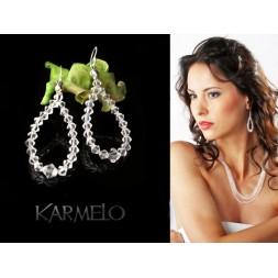Kolczyki  z kryształami Swarovski® KR12