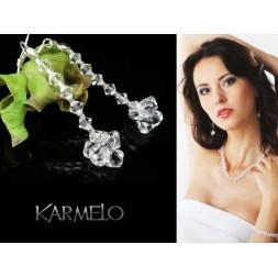 Kolczyki do Ślubu  z kryształami Swarovski® KR21