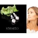Kolczyki do Ślubu  z kryształami Swarovski® KR23
